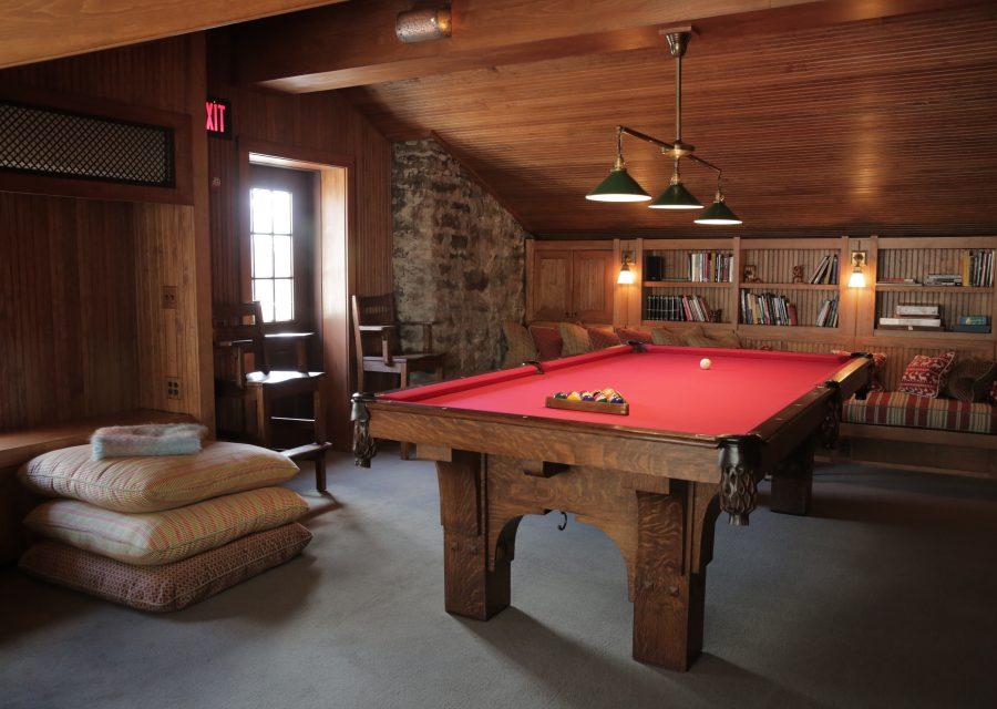 attic at deer mountain inn